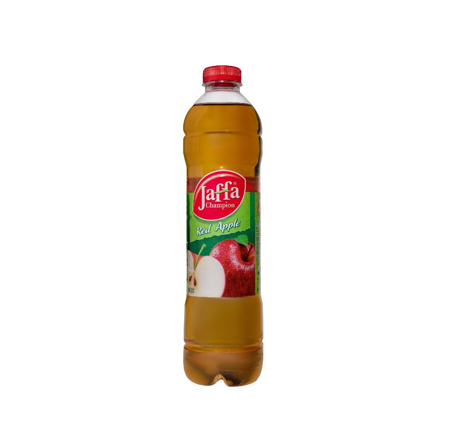 """Erfrischungsgetränk """"Jaffa Champion Red Apple"""" / Geschmack: Apfel / Inhalt: 1,5L"""