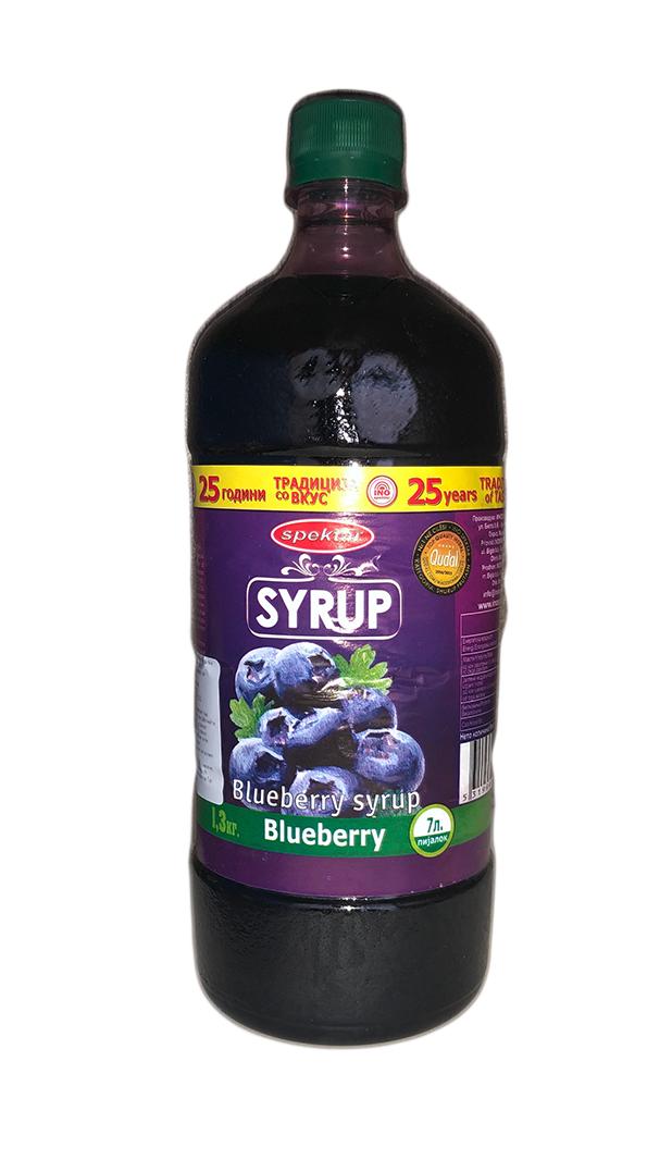 Blaubeeren Sirup