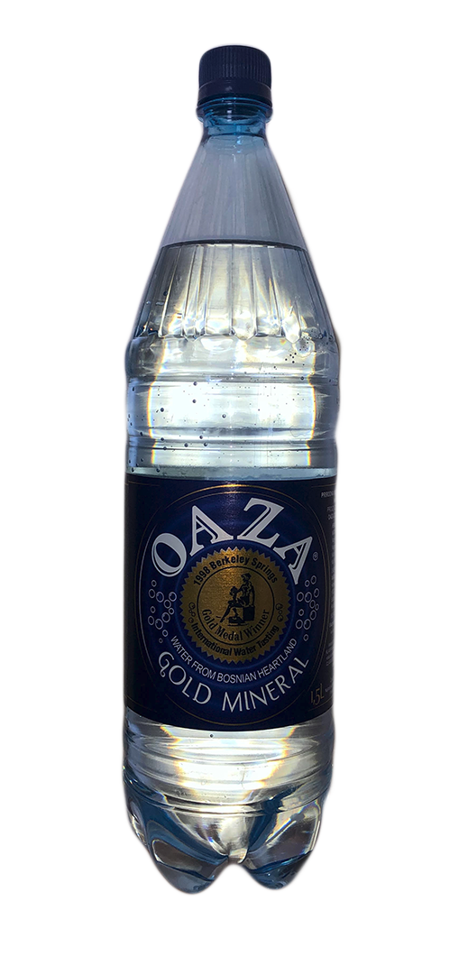 OAZA – Mineralwasser 1,5l