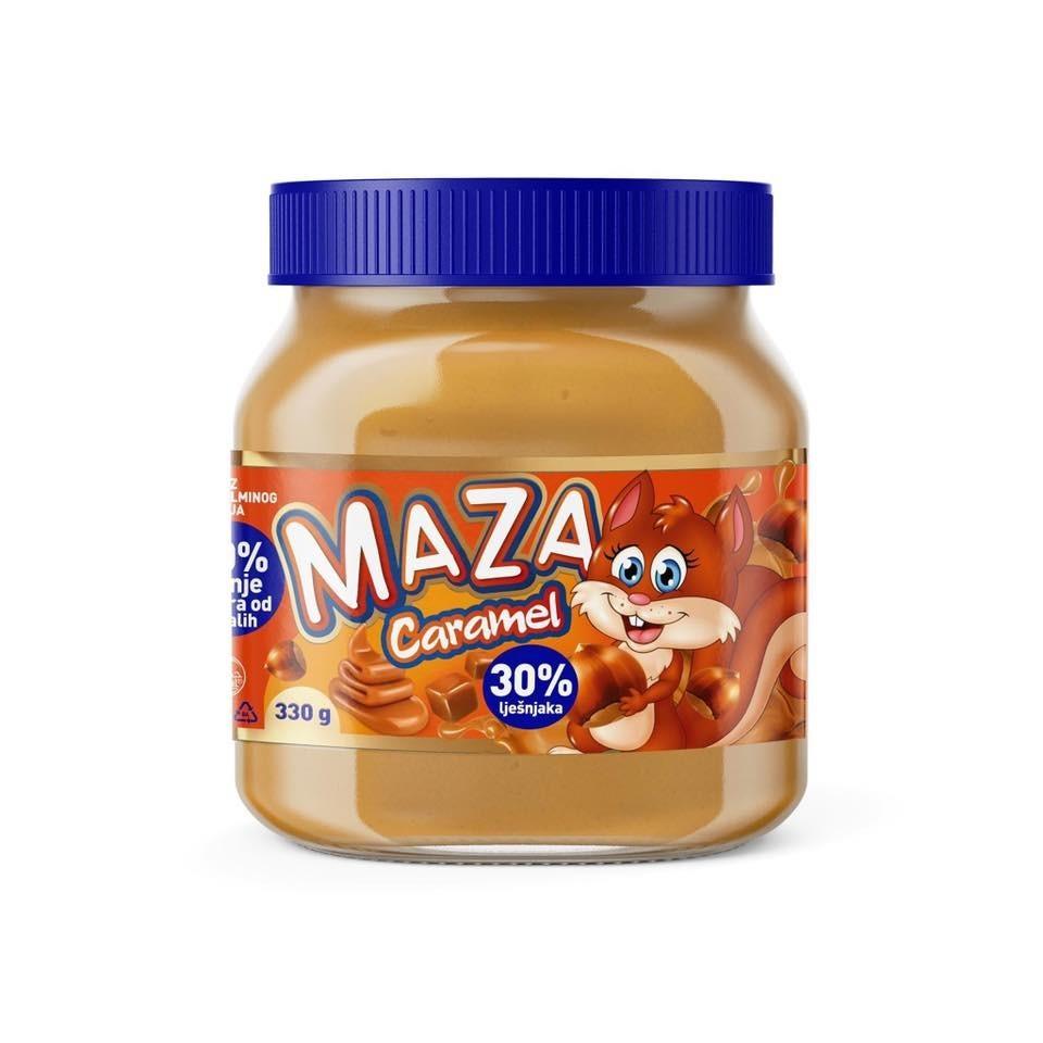 Kakaocreme MAZA – Caramel